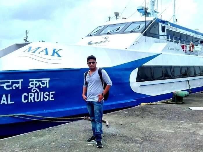 Ferry in Port Blair