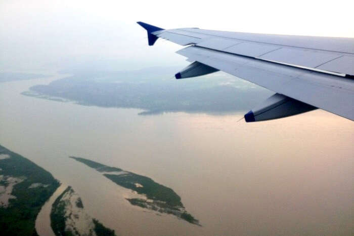 Landing in Bagdogra