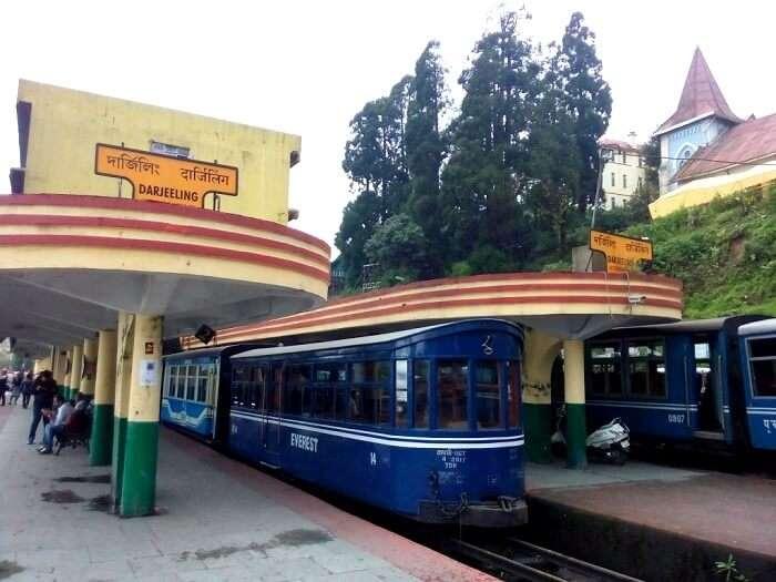 Train Ride in Darjeeling