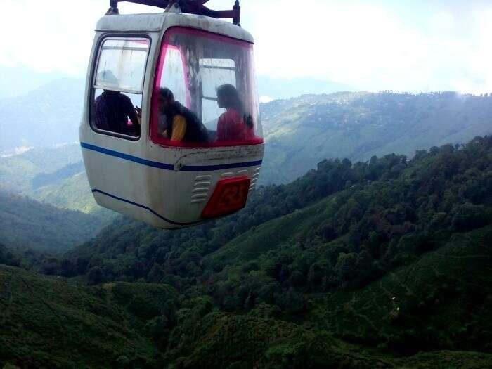 Trolley ride Sikkim