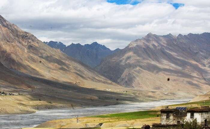 Beautiful valleys of Spiti
