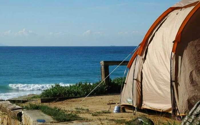 Camping in Murud