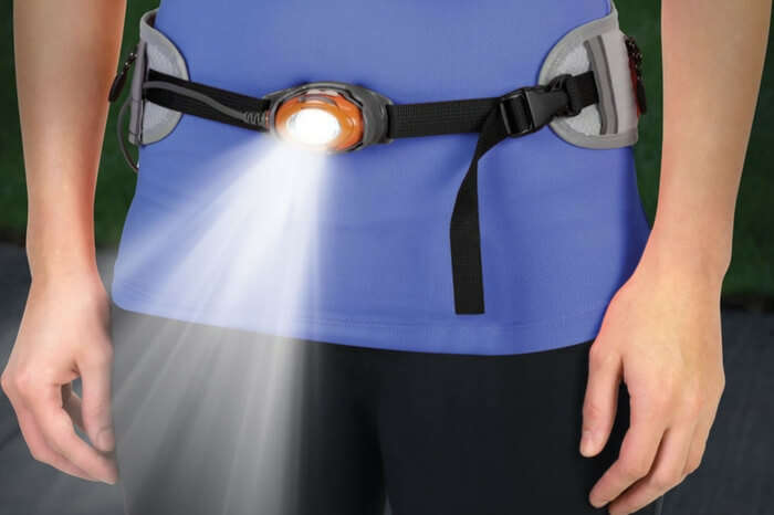 Illuminating belt