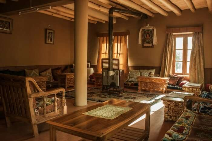 Interiors of Mandrava homestay