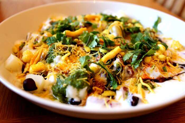 Lip smacking chaat at Maharaja Chaat