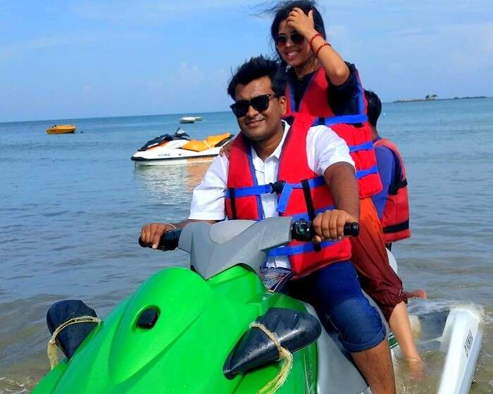 Water activities of Andaman