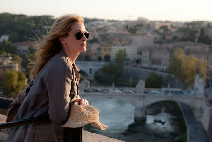 Julia Roberts from the movie Eat Pray Love
