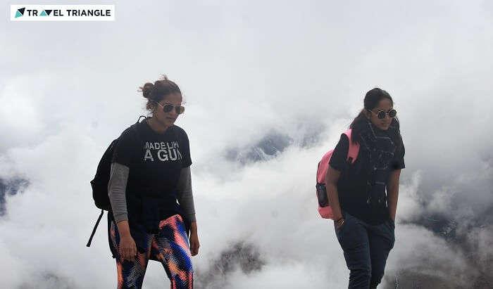 Lahaul range peaks in Spiti valley