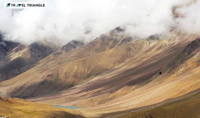 Lahual range peaks in Himachal