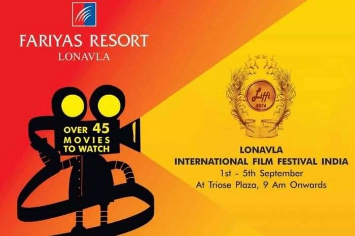 A promotional poster of the Lonavala International Film Festival
