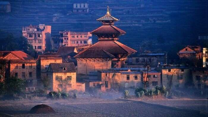 Nepal during sunrise is a sight to behold