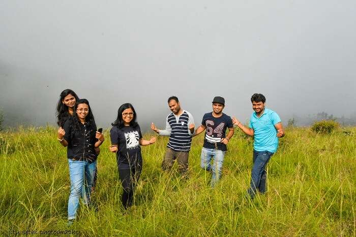 Anamika and her friends in Chakrata