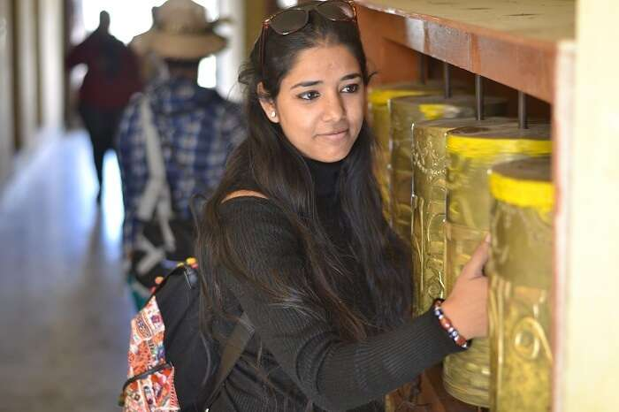 Avni at the famous Key Monastery
