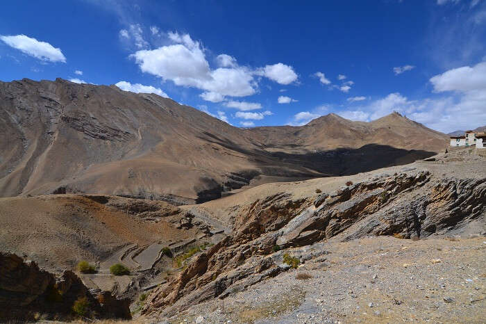 Mountains and nature of Kaza