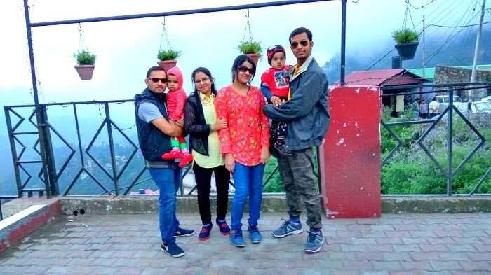 En route Shimla