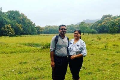 anuj and his wife's trip to Kerala
