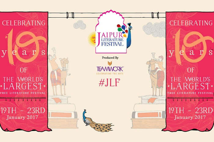 A promotional poster of JLT in Jaipur