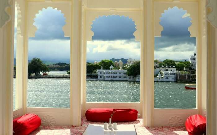 Lake view from Jagat Niwas Palace
