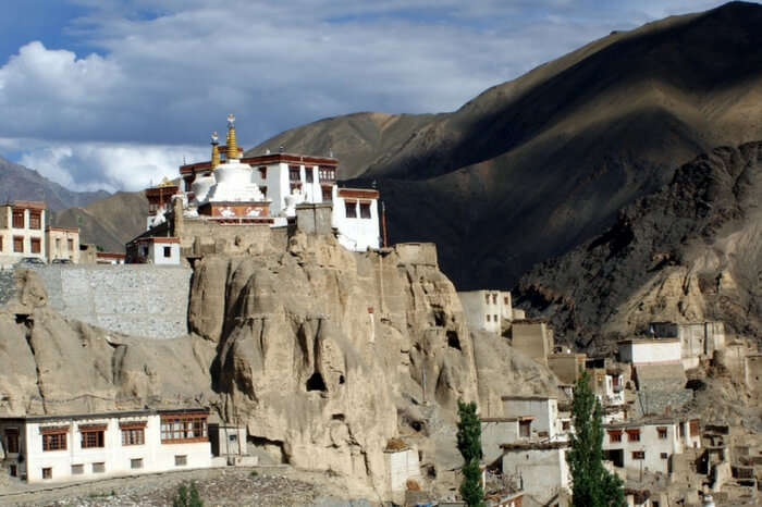 The picturesque Sumda Chun Monastery in Ladakh