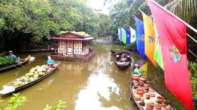 Enjoying the culture in Bangkok
