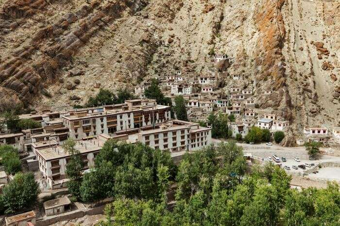 A view of Hemis monastery