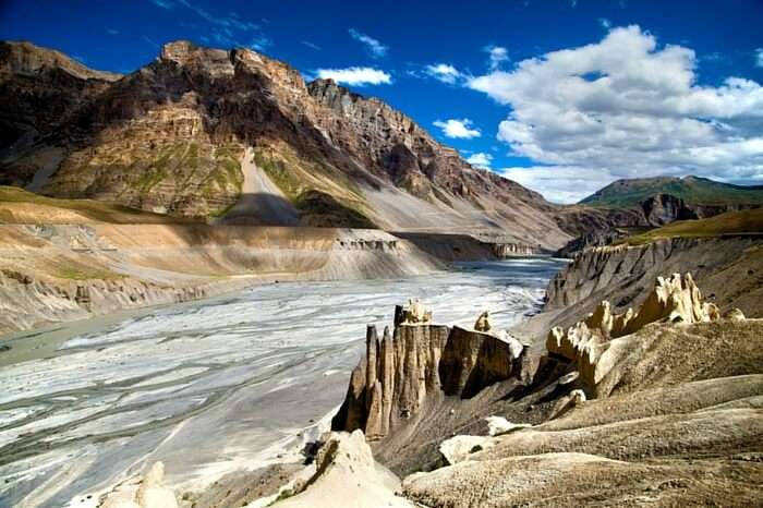 The glorious view of Lahaul & Spiti valley