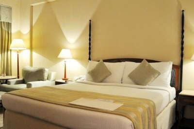 Interiors of a room in Hotel Radisson Varanasi