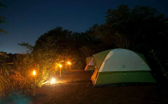 Campsite in Vasind - a lovely hideout for camping near Mumbai