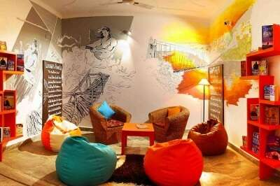 Zostel in Rishikesh is one of the best backpacker hostels in India