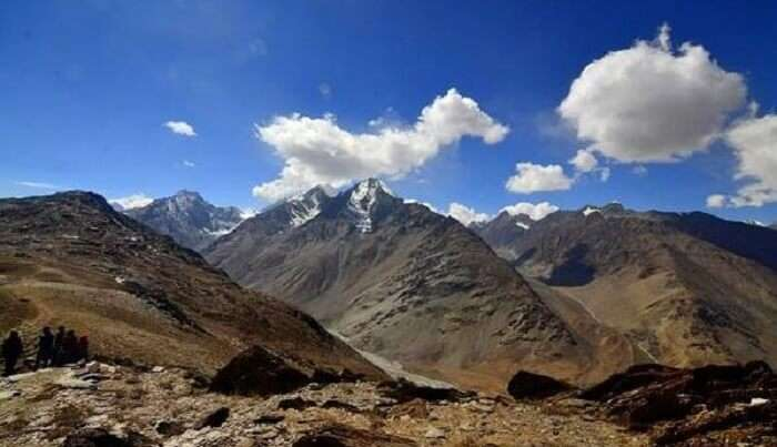 witness the beauty of mountains in spiti