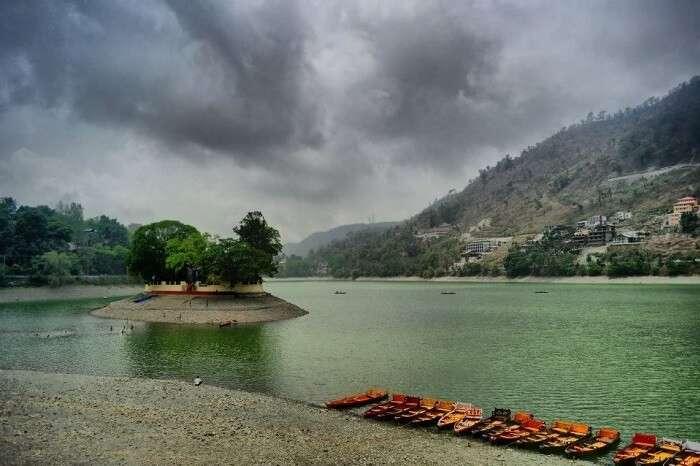boating in bhimtal