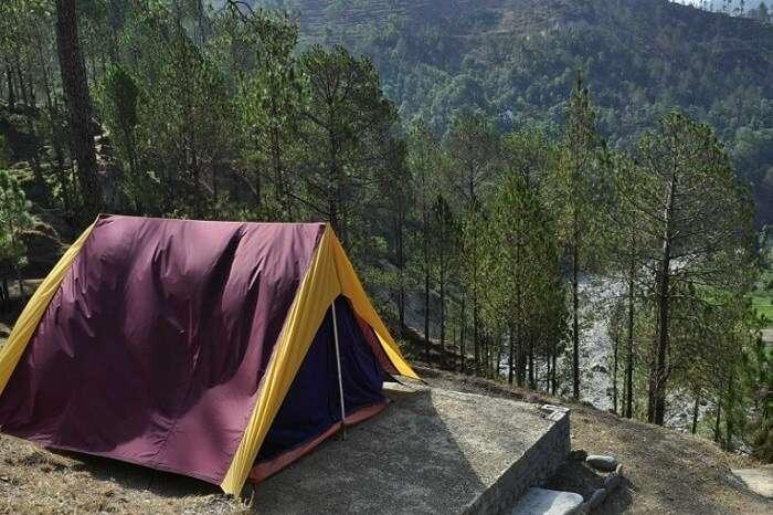 camping in Bhimtal