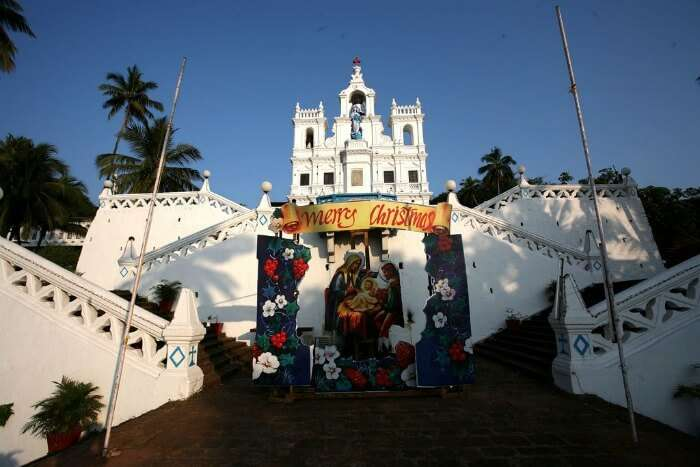 Celebrate Christmas in Goa & visit the many churches