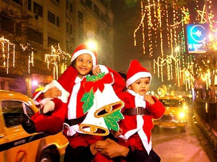 celebrate christmas in kolkata this year