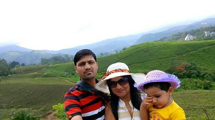 Family vacation in Kerala