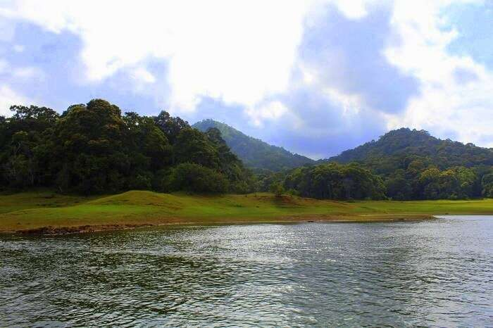 Periyar lake and nature in Kerala