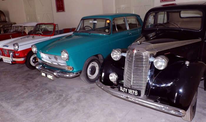 Vintage Cars Museum in Udaipur