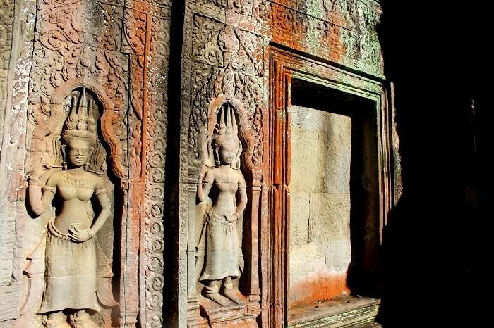 Art in Ta Phrom Temple