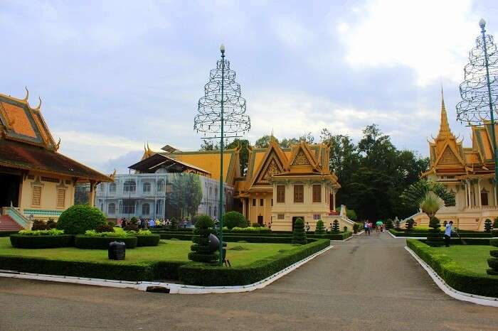Streets in Cambodia