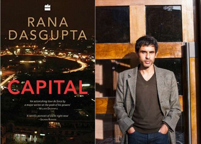 The book jacket and author of the book - Capital
