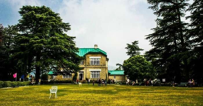 Shot of Chail Palace Hotel