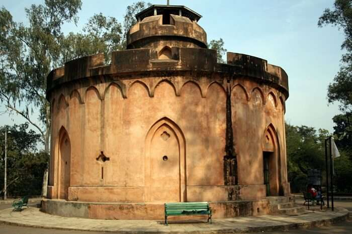 A snap of the Flagstaff Tower where British ladies and children took refuge during the Revolt of 1857