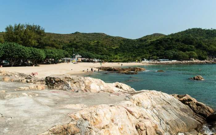 Hung Shing Yeh beach landscape view
