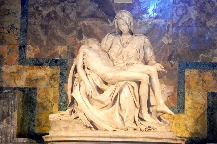 Michelangelo's Pieta at Vatican
