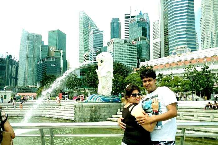 Leisure time at Marina Bay