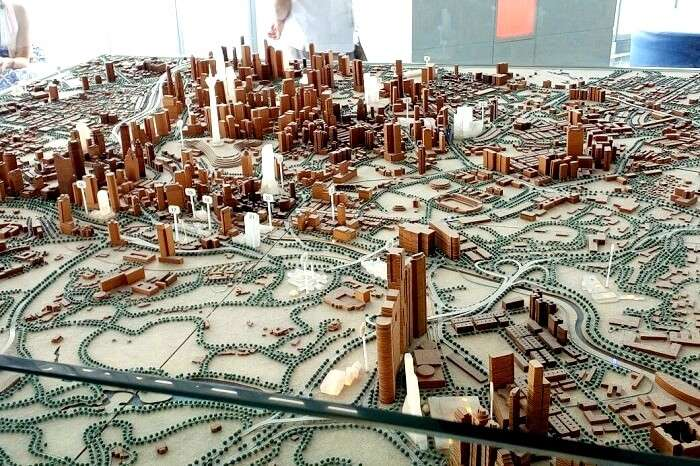 Beautifully miniature model of Singapore
