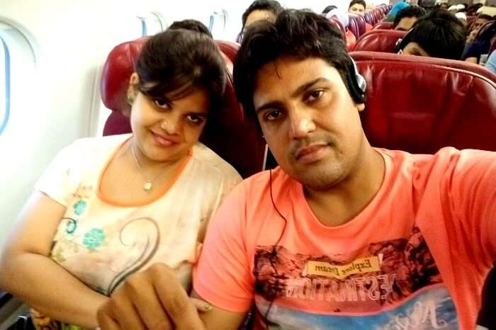 Ravi and his wife Singapore bound
