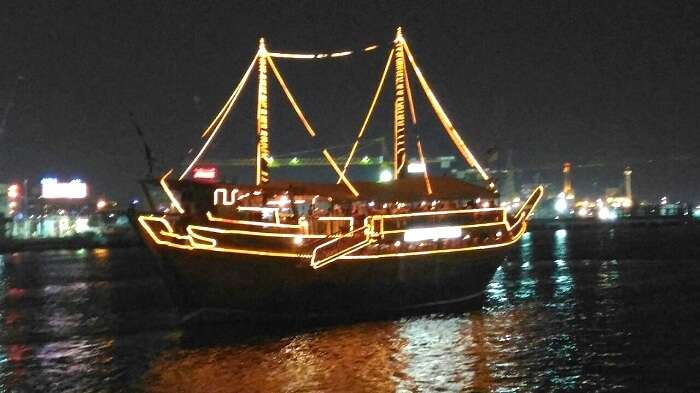 Dhow cruise celebration in Dubai