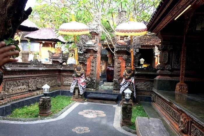 Traditional houses in Bali