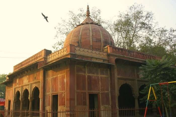 The Lal Bangla in the Babarpur Area of Delhi